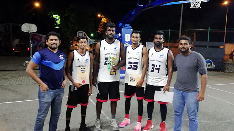Saegis Campus emerged runners up at ACBT Basket Ball