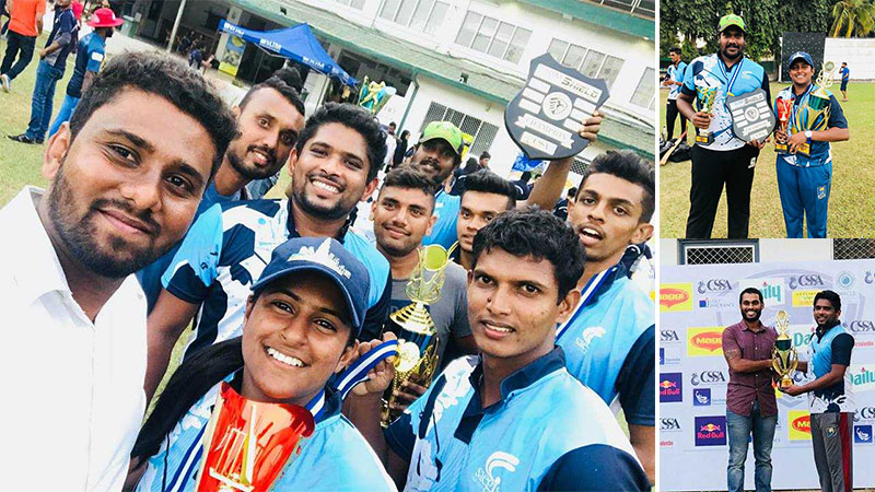 Saegis Campus Emerged Champions at the SLIM Sixers 2018