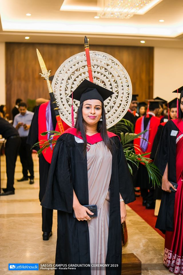 Sadani Senadheera Best performer Bachelor of Science (Hons) Business Management - First Class Awarded by Canterbury Christ Church University