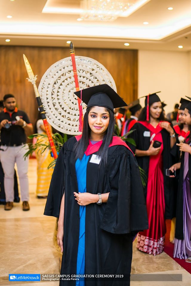 Raveesha Wickramasinghe Bachelor of Science (Hons) Business Management - First Class Awarded by Canterbury Christ Church University