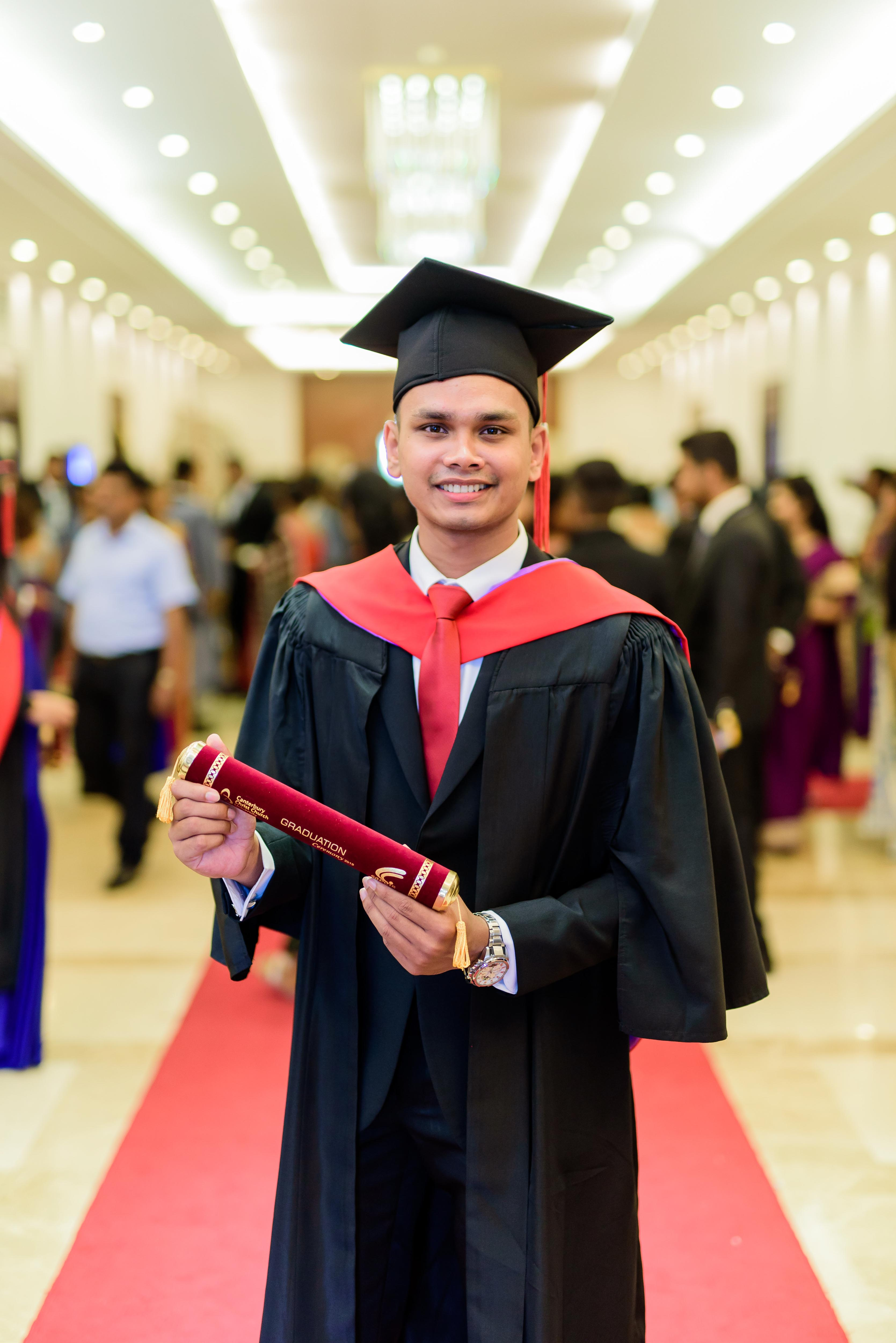 Mohamed Rizni Fairose Bachelor of Science (Hons) Business Management - First Class Awarded by Canterbury Christ Church University