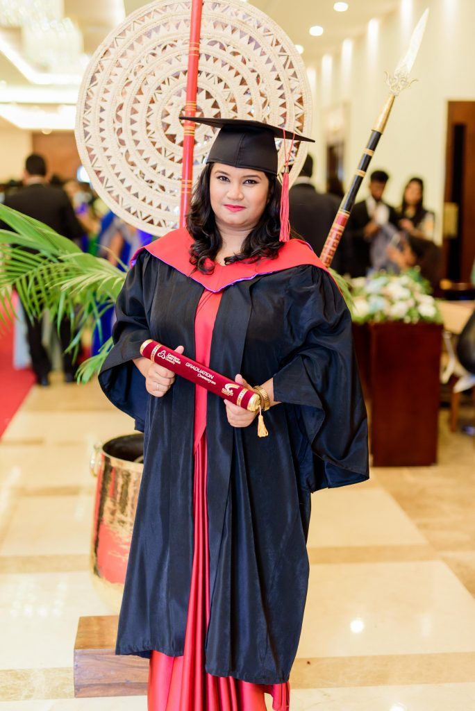 Paramitha Herath Bachelor of Science (Hons) Business Management - First Class Awarded by Canterbury Christ Church University